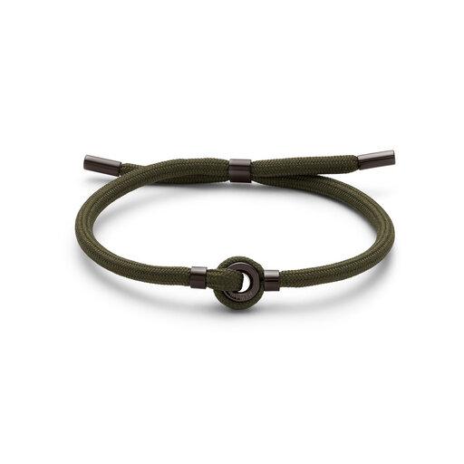 Upcycled Rope Bracelet