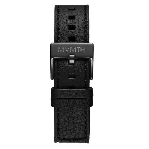 Chrono - 20mm Black Leather