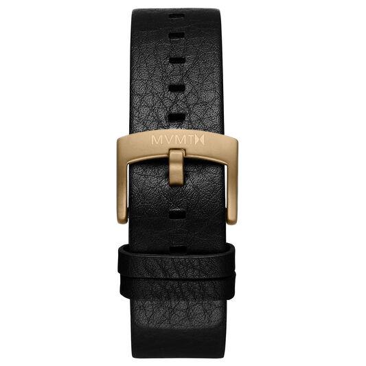 Blacktop - 24mm Black Leather