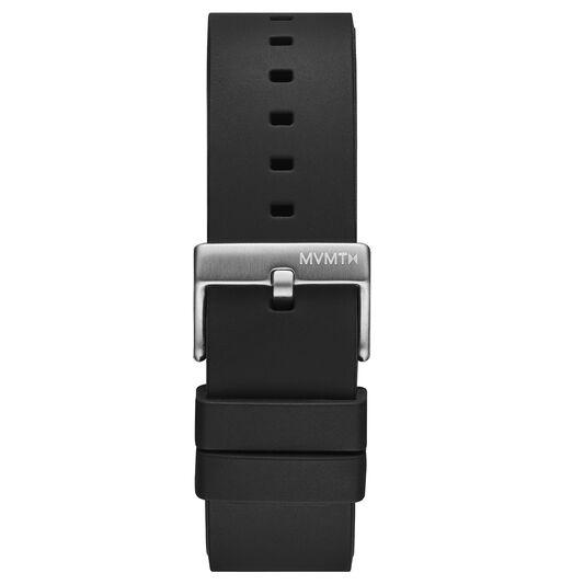 Minimal Sport - 22mm Black Silicone