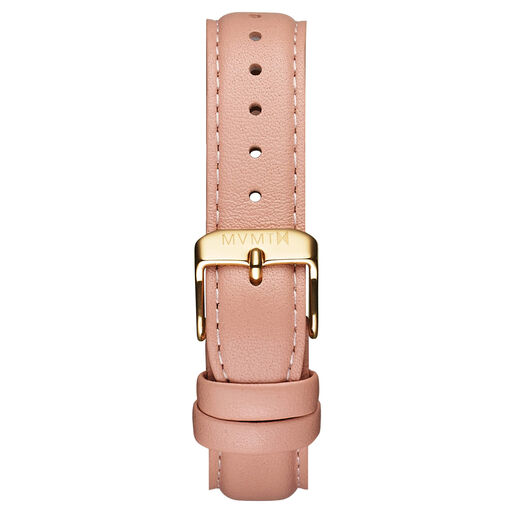 Womens - 18mm Peach Leather