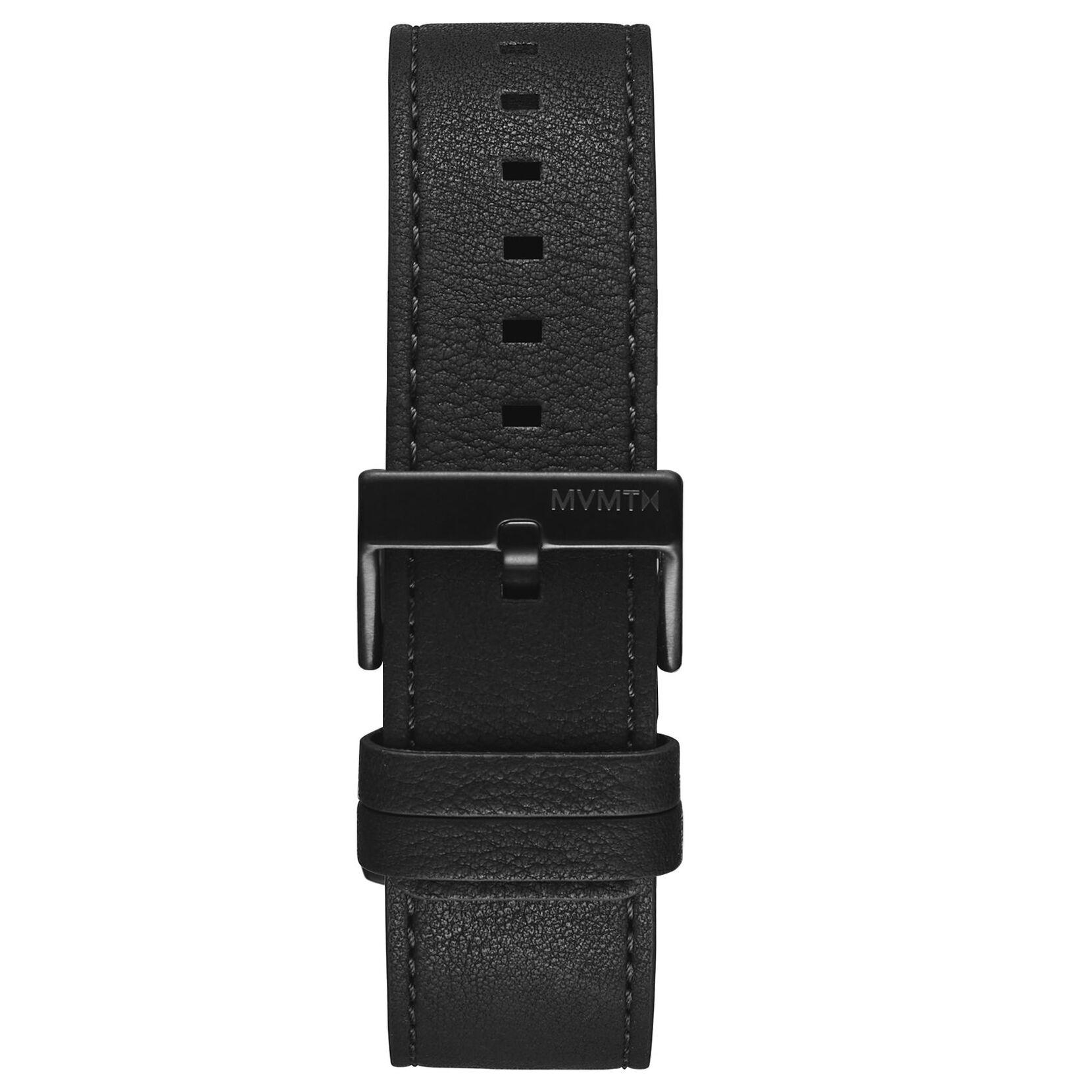 Minimal Sport - 22mm Black Leather