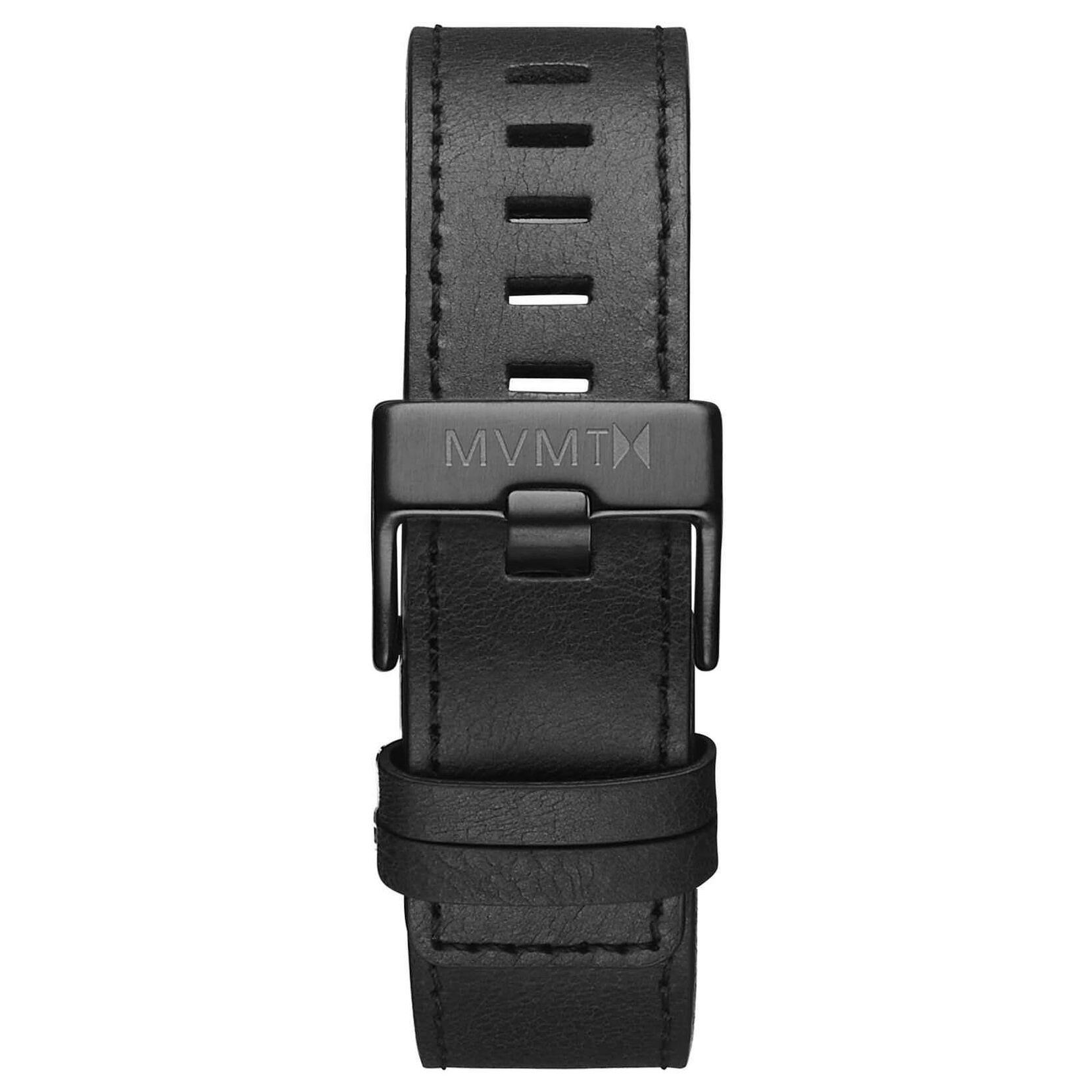 Chrono - 22mm Black Leather
