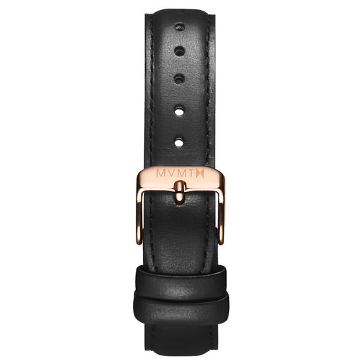 Avenue - 14mm Black Leather