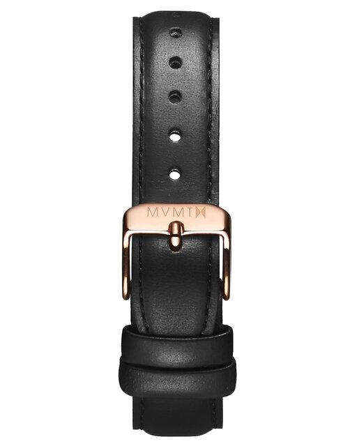 Avenue - 14mm Black Leather