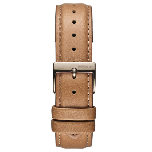 Duet - 20mm Brown Leather