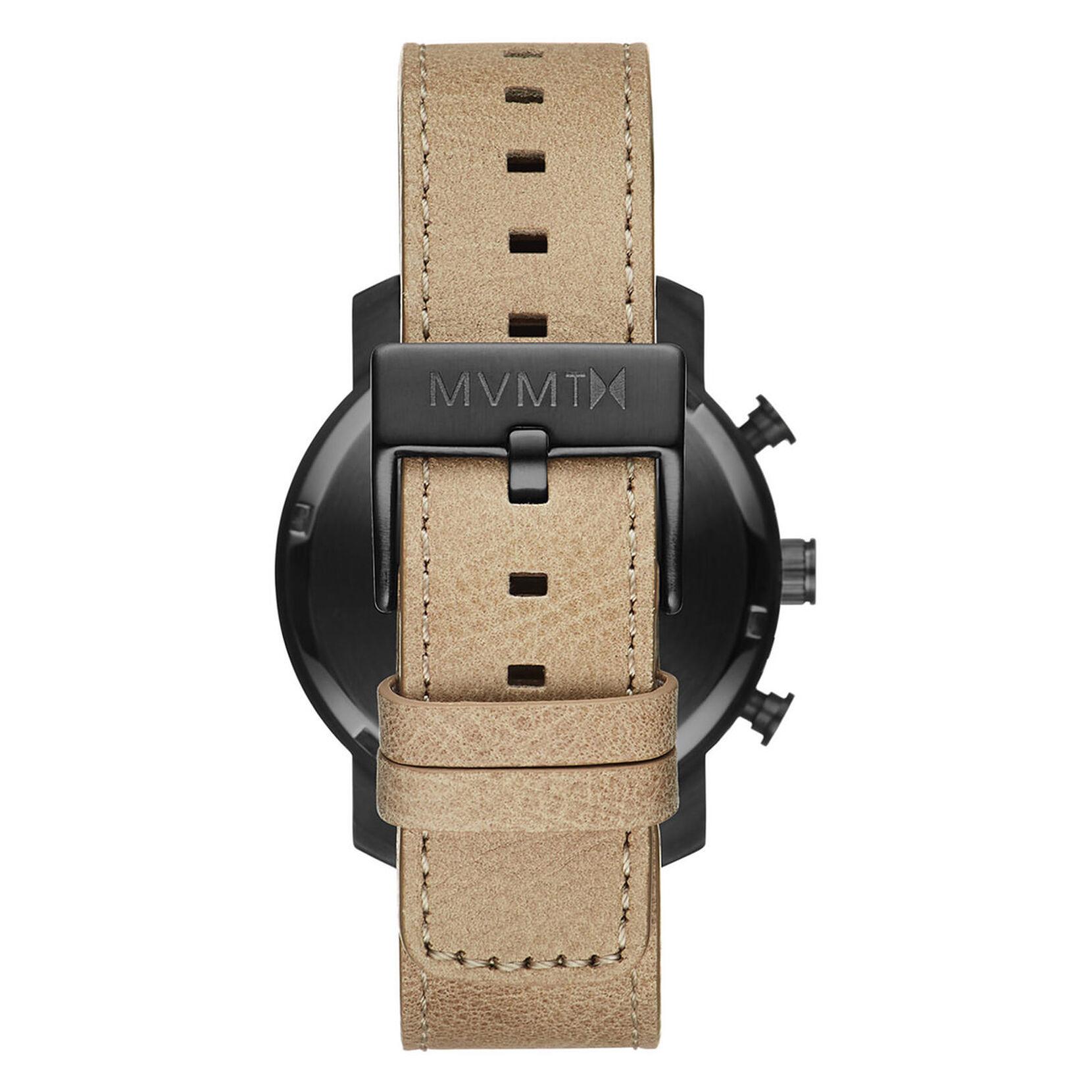 Chrono 40mm Gunmetal Sandstone