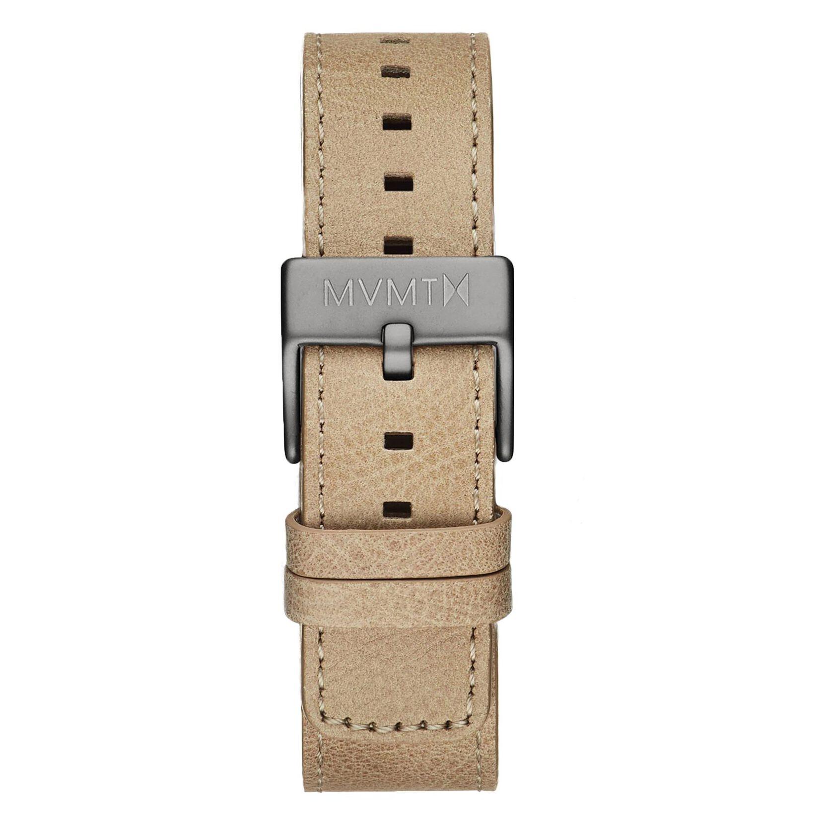 Chrono - 20mm Sandstone Leather