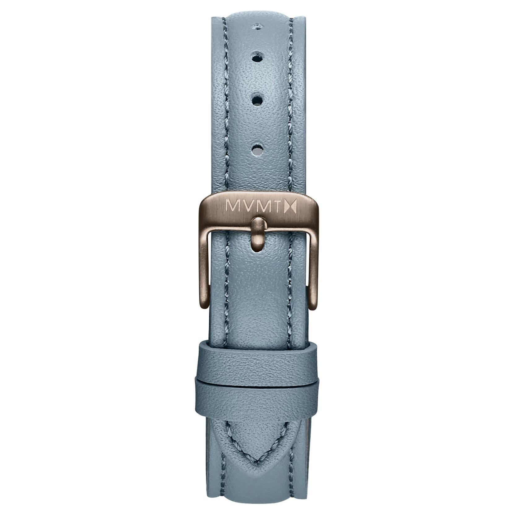 Nova - 16mm Cool Grey Leather