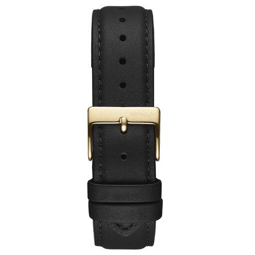 Duet - 20mm Black Leather