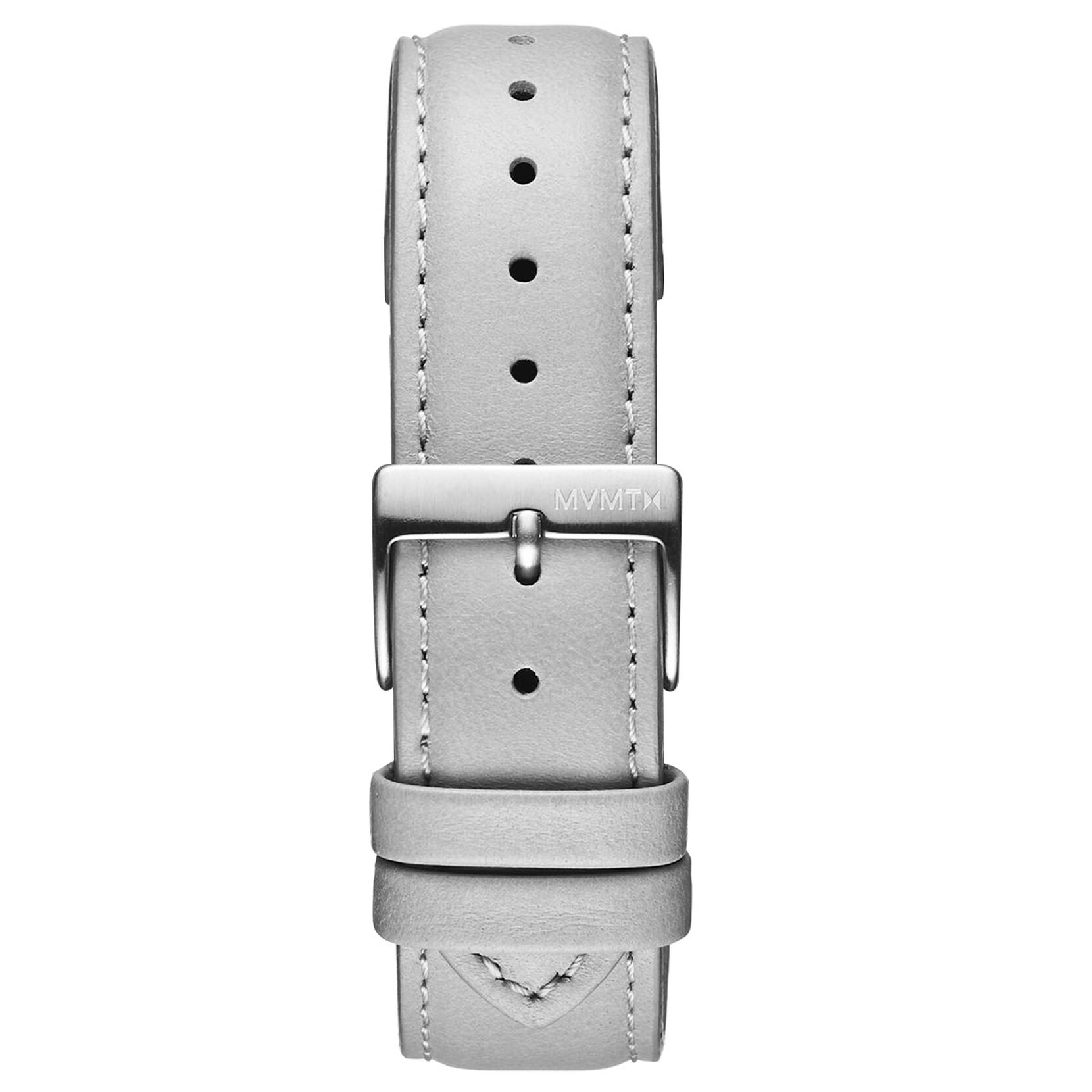 Duet - 20mm Grey Leather