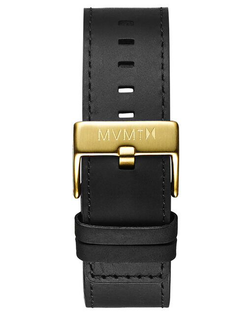 Classic - 24mm Black Leather