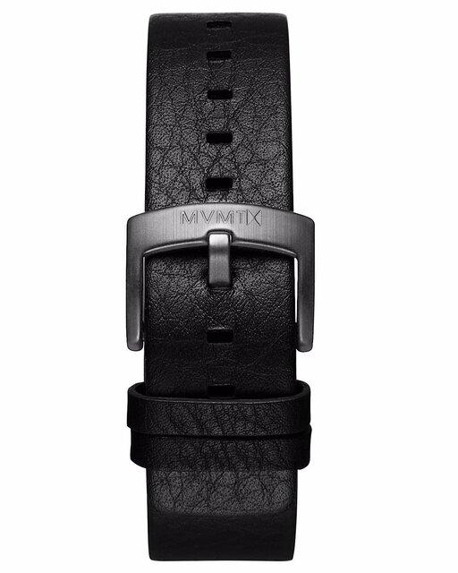 Revolver - 20mm Black Leather