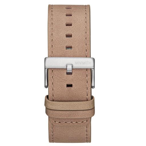 Element Chrono - 24mm Sandstone Leather