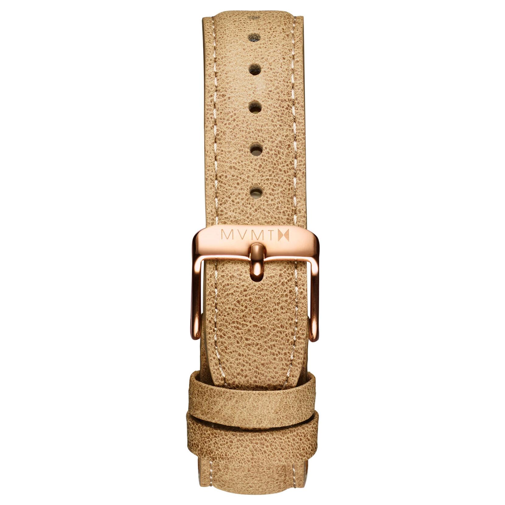 Signature - 18mm Beige Leather