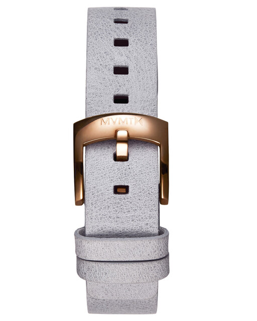Bloom - 16mm Grey Leather