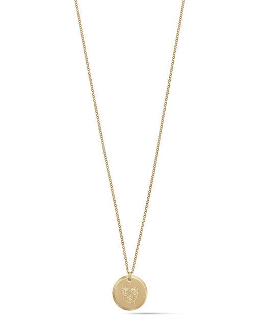 Warrior Pendant Necklace