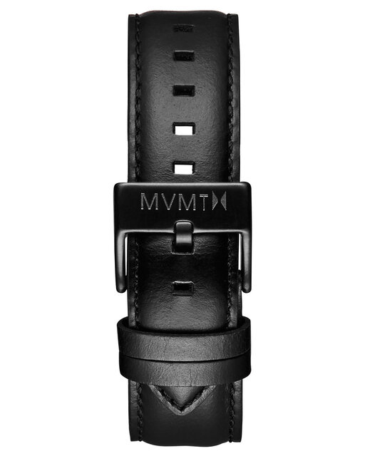 40 Series - 20mm Black Leather