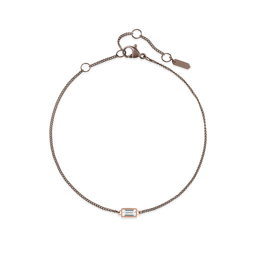 Rectangle Chain Bracelet