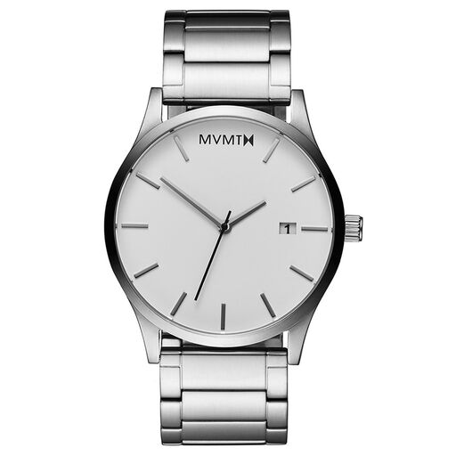Classic White Silver
