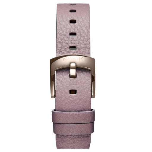 Bloom - 16mm Purple Leather