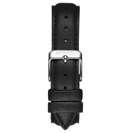 Boulevard - 18mm Matte Black Leather