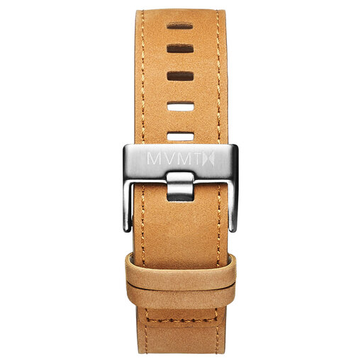 Chrono - 22mm Tan Leather