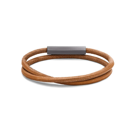 Double Leather Wrap
