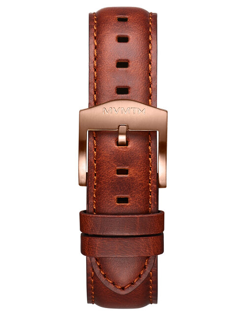 Arc Automatic - 20mm Light Brown Leather