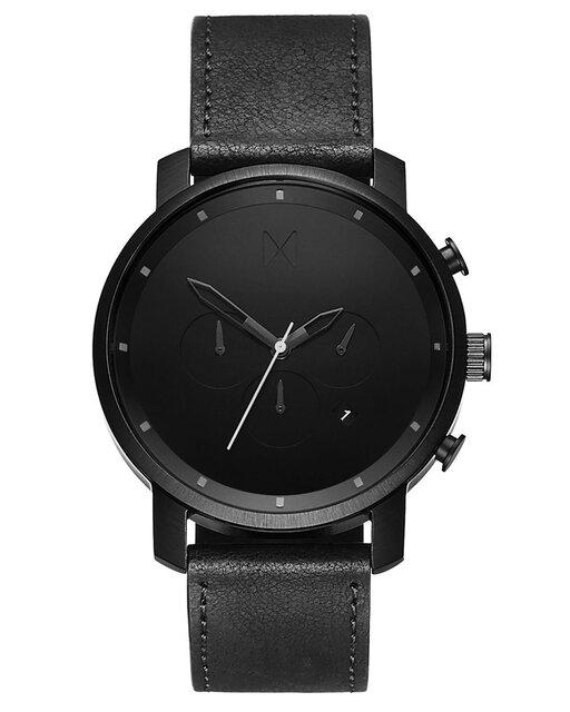 Chrono Black Leather