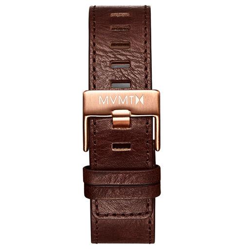 Chrono - 22mm Chestnut Leather