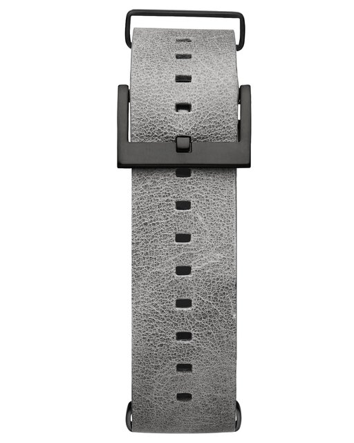 Voyager - 21mm Light Grey Leather
