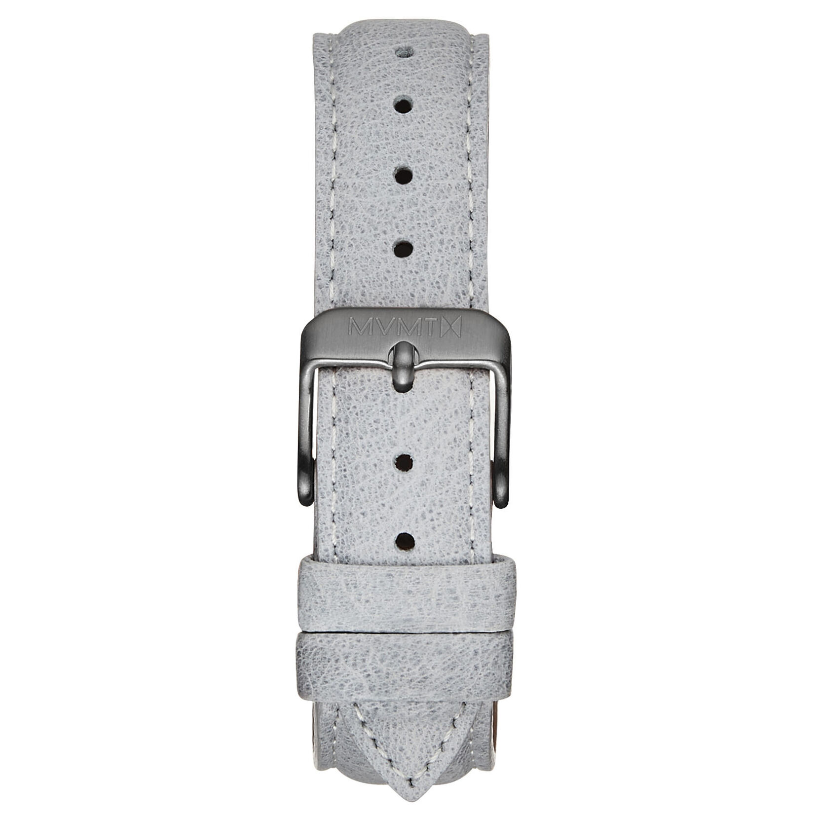 Boulevard - 18mm Light Grey Leather