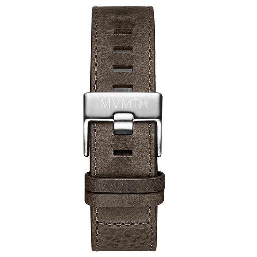 Chrono - 22mm Grey Leather