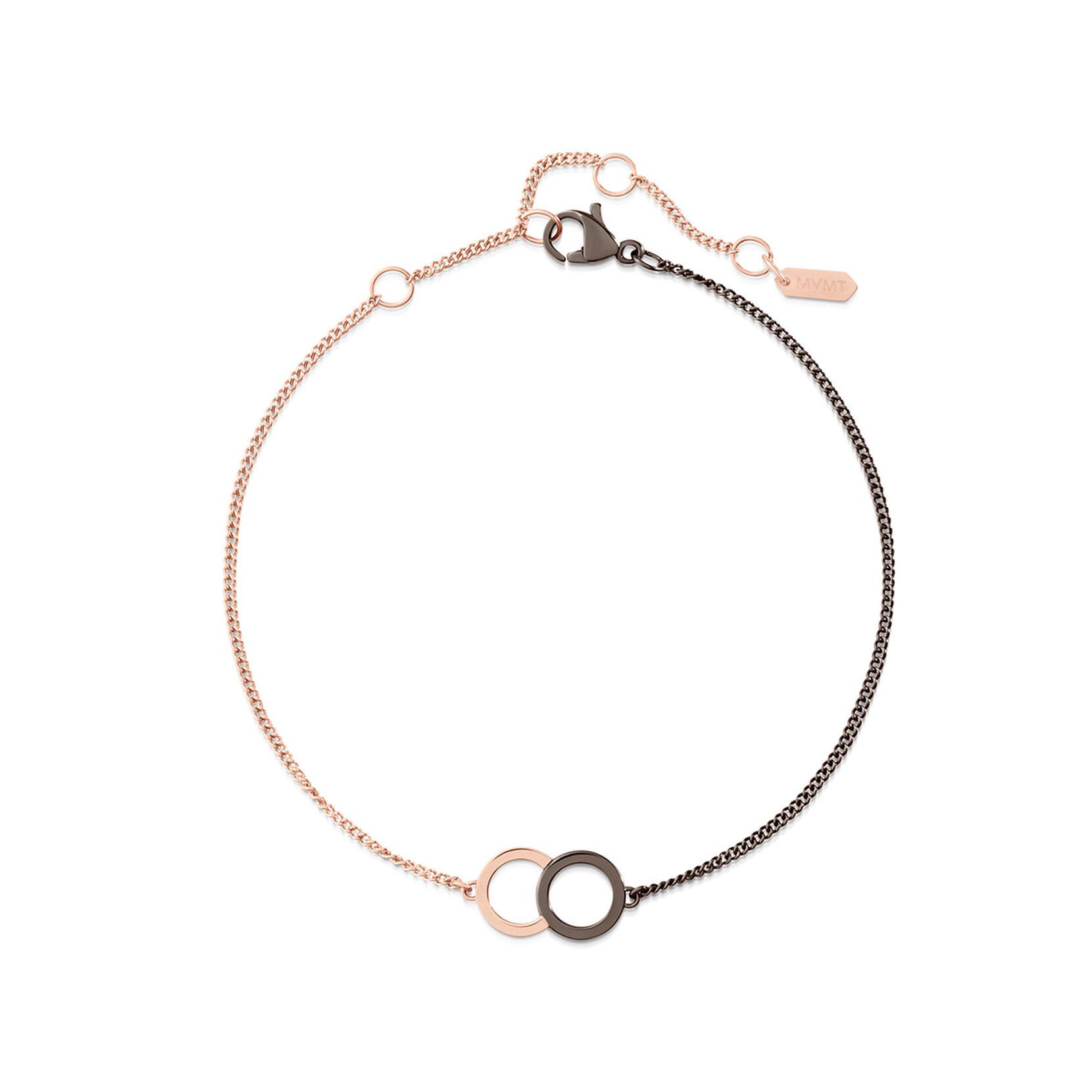 Locked Ring Chain Bracelet