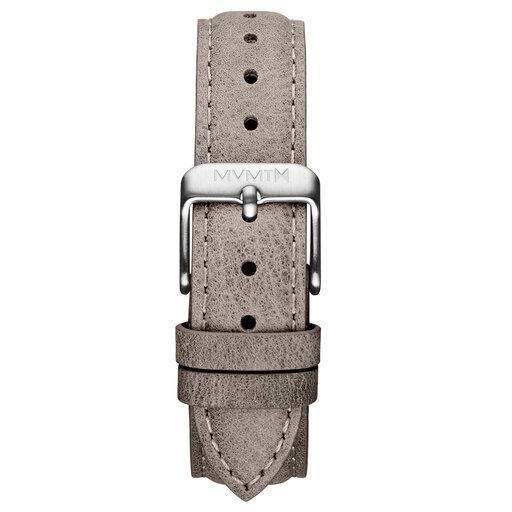 Signature II - 16mm Storm Grey Leather