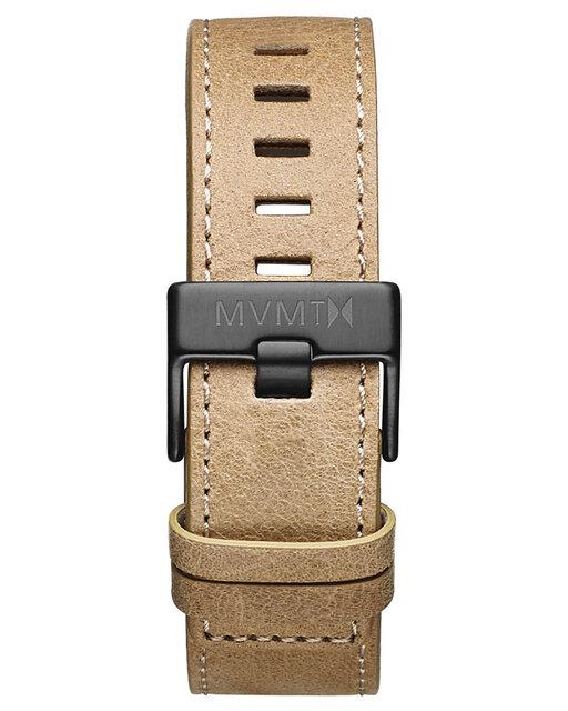 Chrono - 22mm Sandstone Leather
