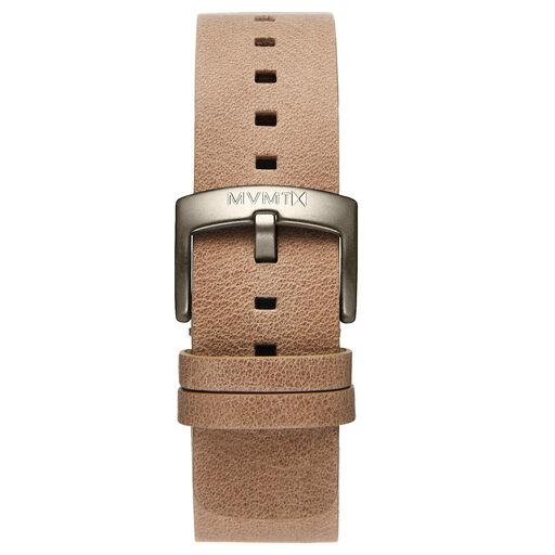 Blacktop - 24mm Sandstone Leather