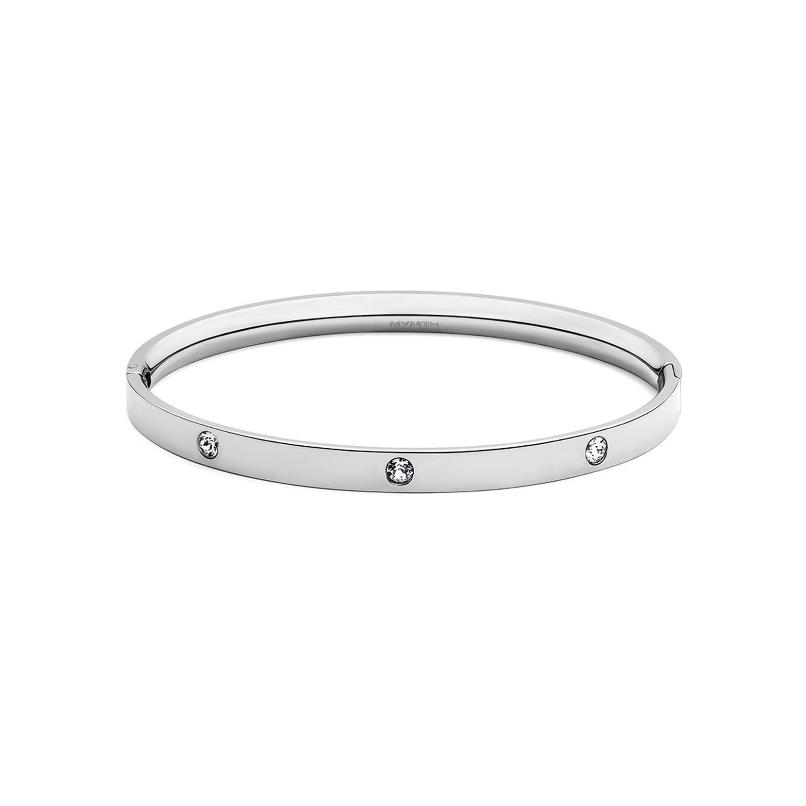 Crystal Ellipse Bangle