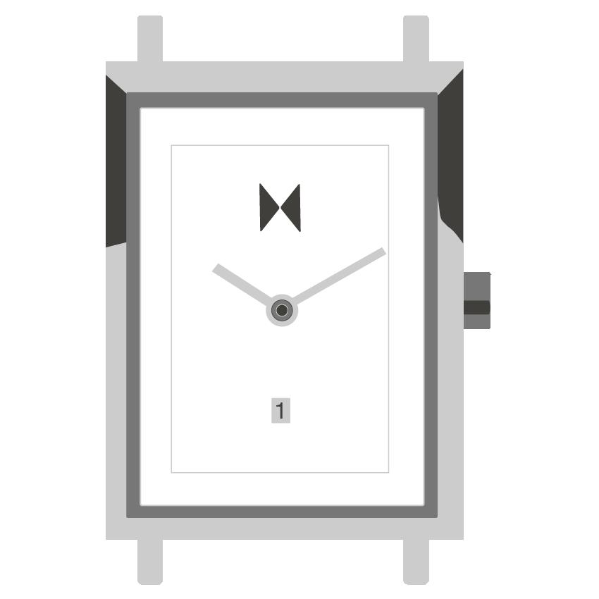 Signature Square watch illustration