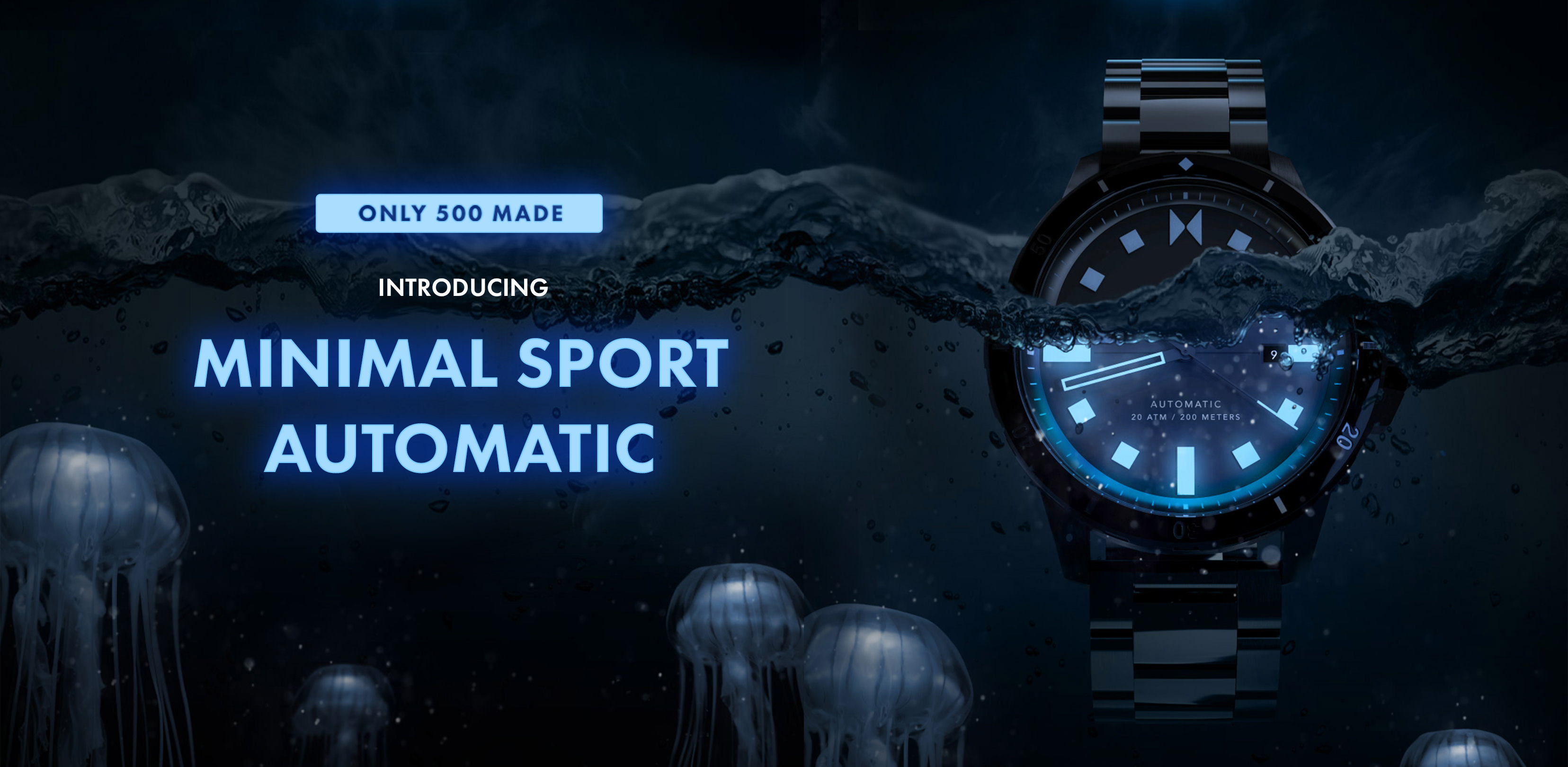 Introducing Minimal Sport Automatic, Only 500 Made