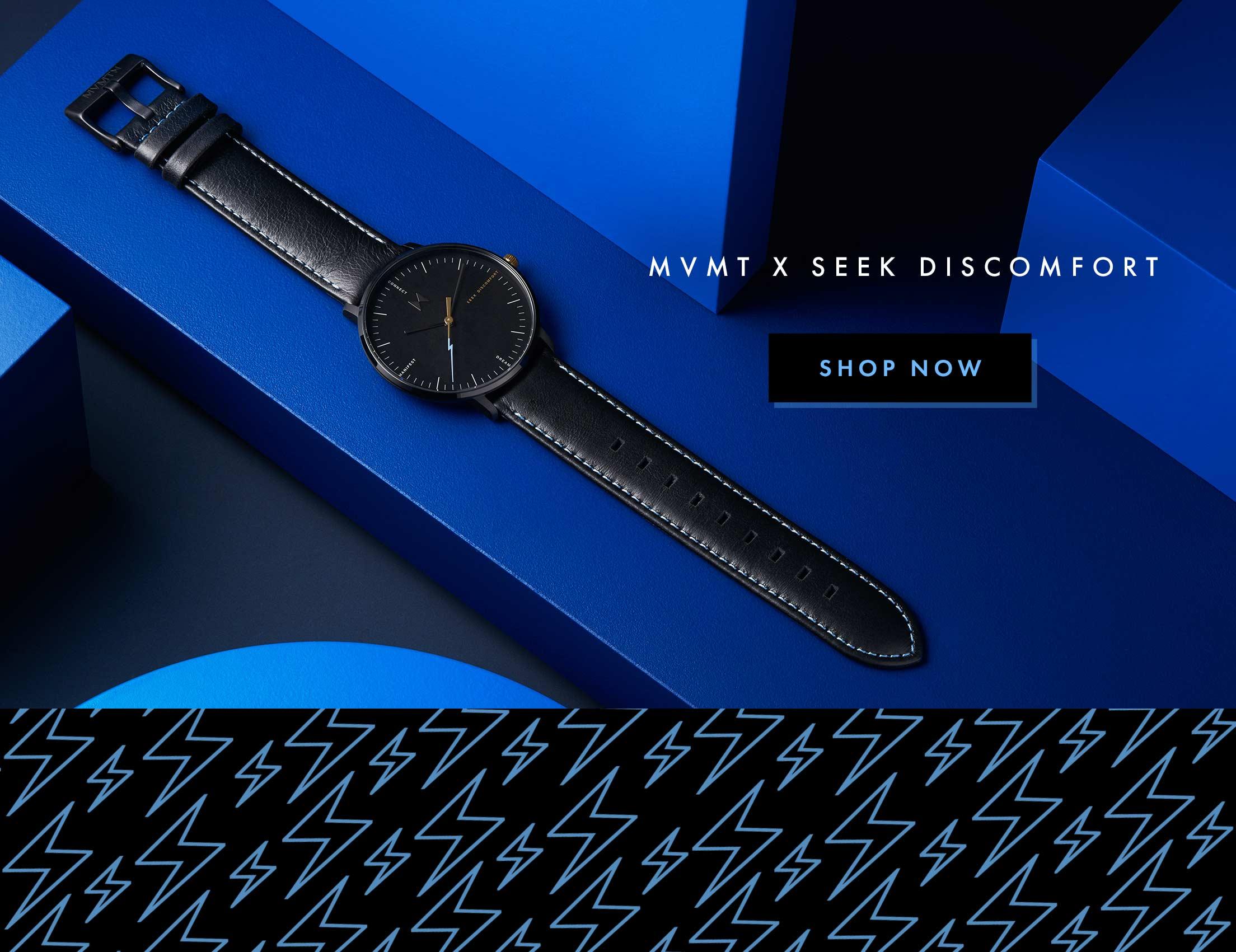 MVMT x Seek Discomfort: Shop Now