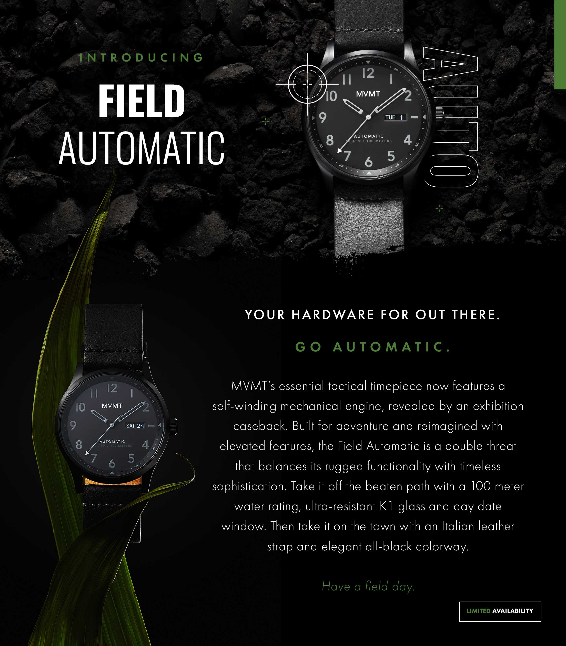 Introducing the Field Automatic