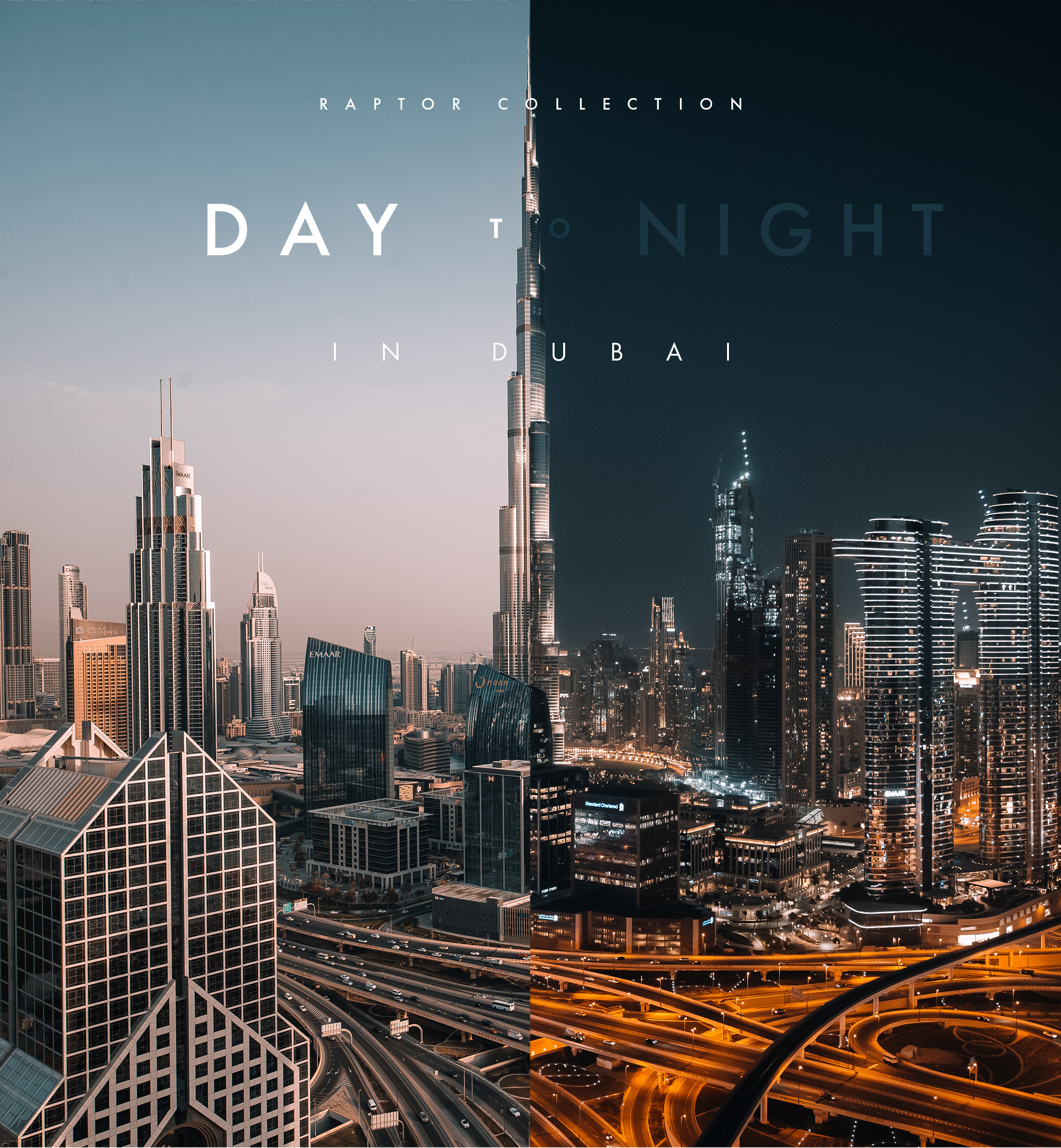 Raptor Collection | Day to Night in Dubai