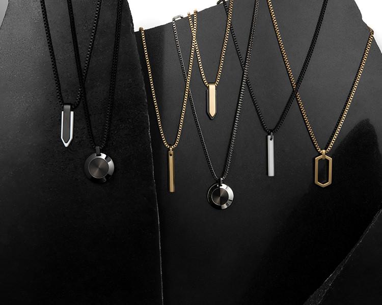 Mens jewelry flatlay