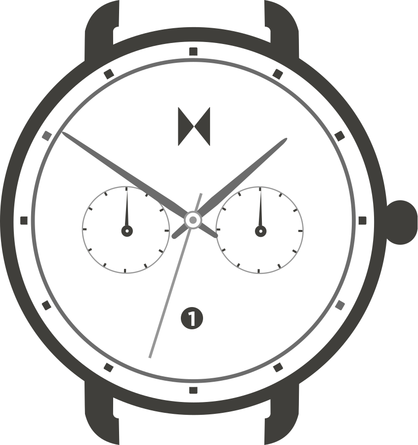 Blacktop watch illustration