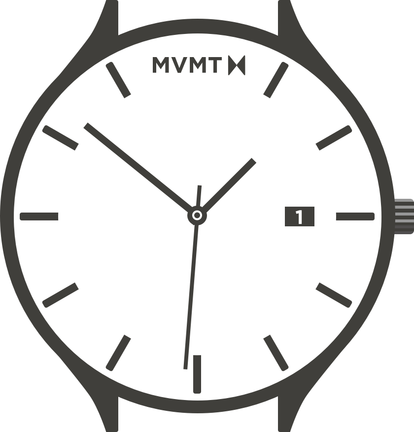 Classic watch illustration