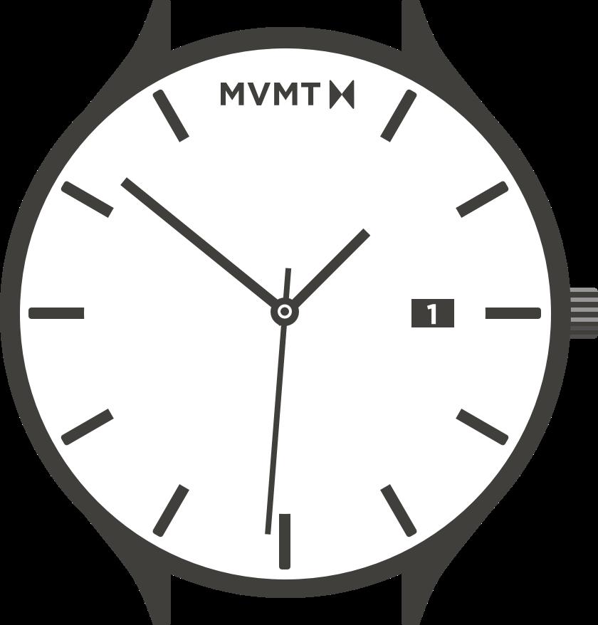 Classic watch illustration