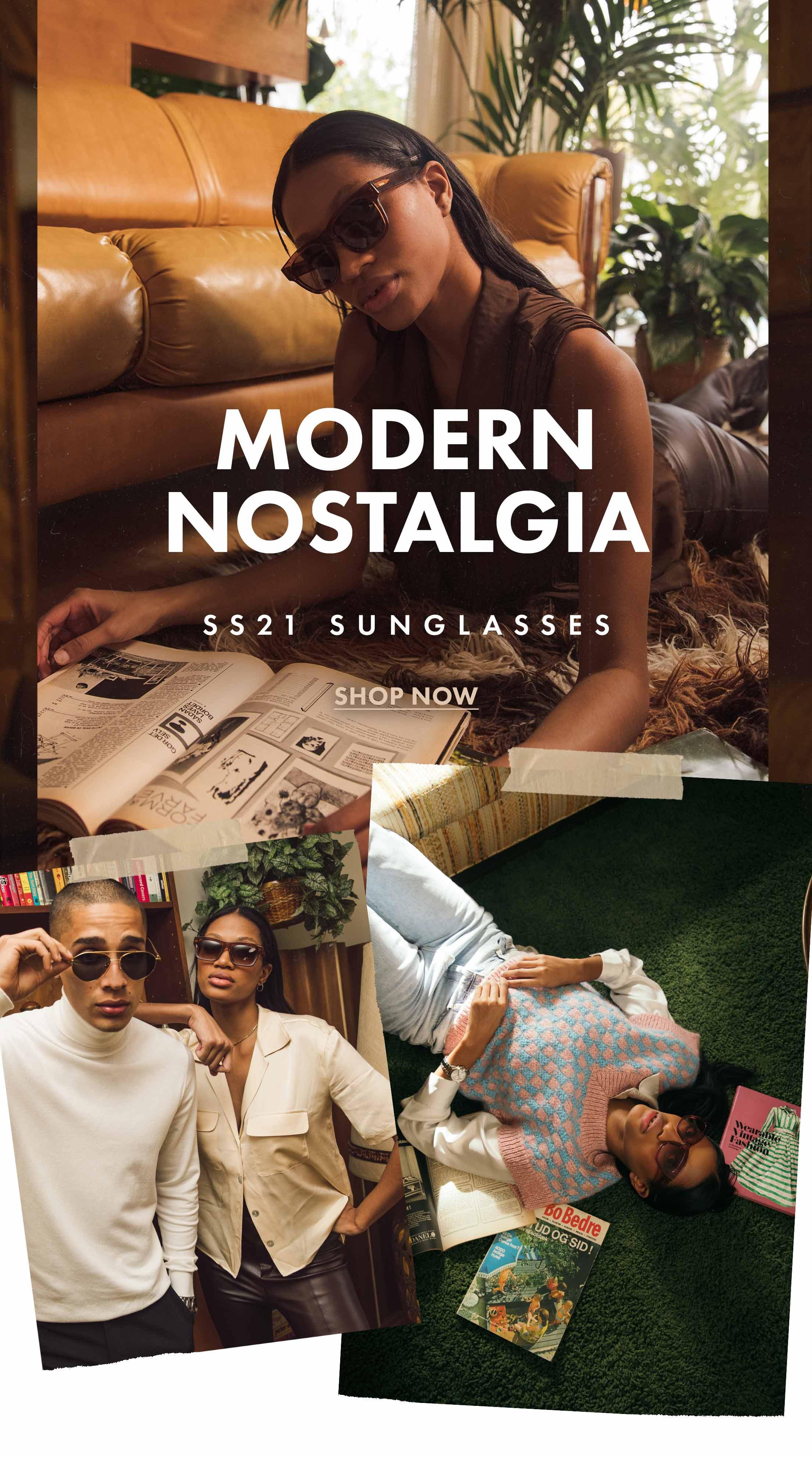 SS21 Sunglasses - Modern Nastalgia: Shop Now