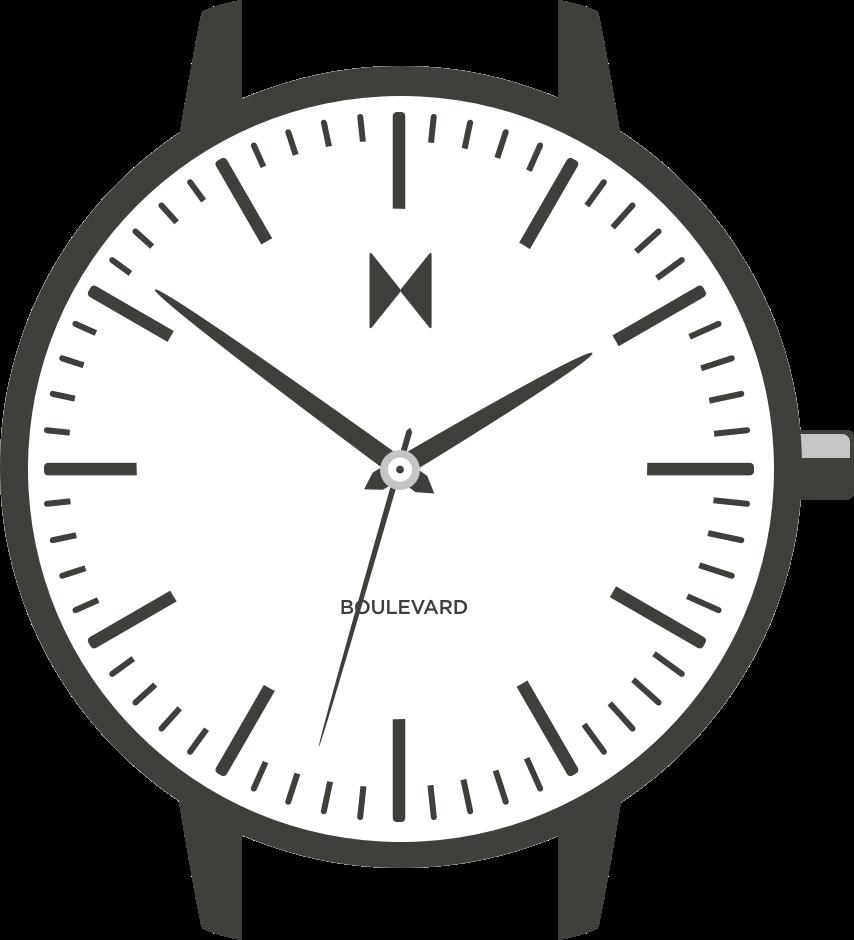 Boulevard watch illustration